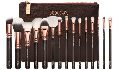 Набор кистей Zoeva Rose Golden Complete Set Vol.1 15 шт