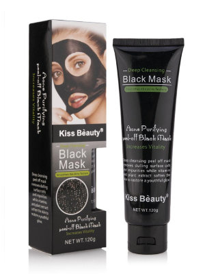 Черная маска BLACK MASK Kiss Beauty 120 гр