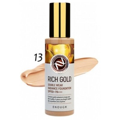 Тональный крем Enough Rich Gold Double Wear Radiance Fundation SPF50+ PA+++ (13)